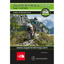 Supertrail Map Lago di Garda South | Backcountry Books