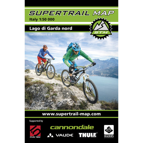 Supertrail Map Lago di Garda Nord | Backcountry Books