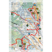 Supertrail Map Portes du Soleil | Backcountry Books
