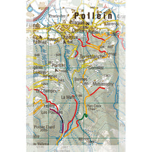 Supertrail Map Valle d'Aosta Centrale | Backcountry Books