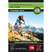 Supertrail Map Vinschgau Nord Mountain Bike Map | Backcountry Books
