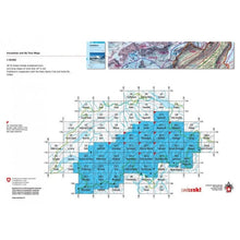 Swisstopo 262 S Rochers de Naye Ski Touring Map | Backcountry Books