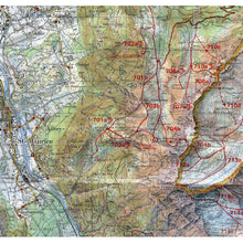 Swisstopo 272 S St Maurice Ski Touring Map | Backcountry Books