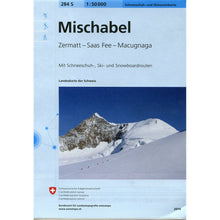 Swisstopo 284S Mischabel Ski Map | Backcountry Books