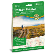 Tromso Map | Nordeca Tromso / Kvaloya Topo 3000 | Backcountry Books