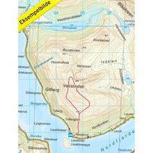 Tromso Map Nordeca Tromso Kvaloya Topo 3000 | Backcountry Books