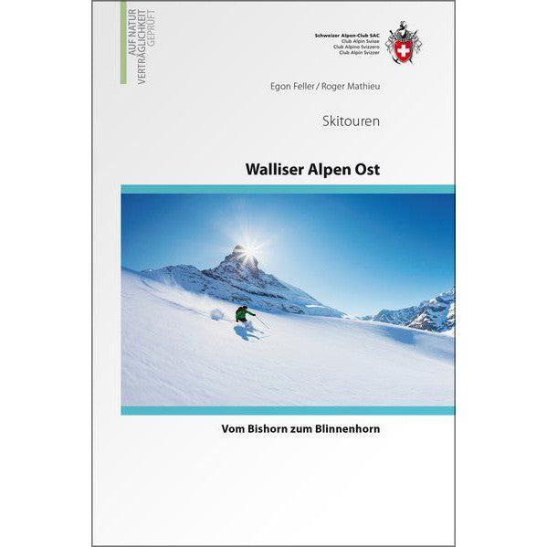 Walliser Alpen Ost Ski Touring Guide Book | SAC | Backcountry Books