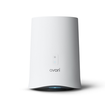 Avari 600 Electrostatic Tabletop Personal Air Purifier - Front
