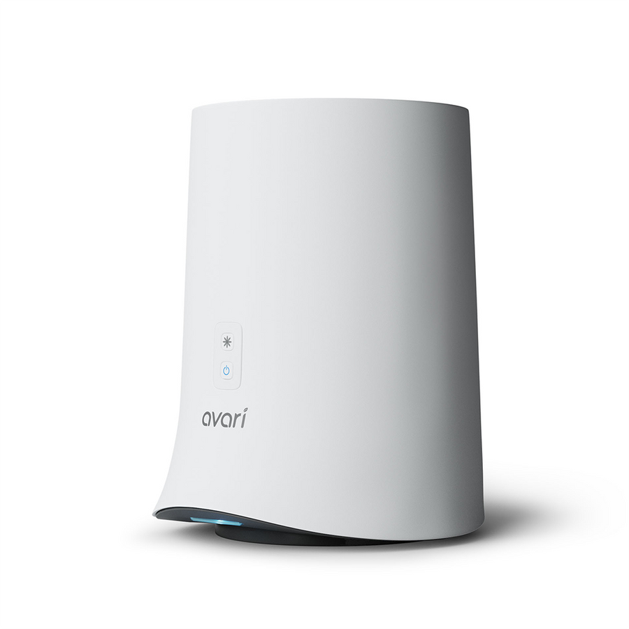 Avari 600 Electrostatic Tabletop Personal Air Purifier - Side