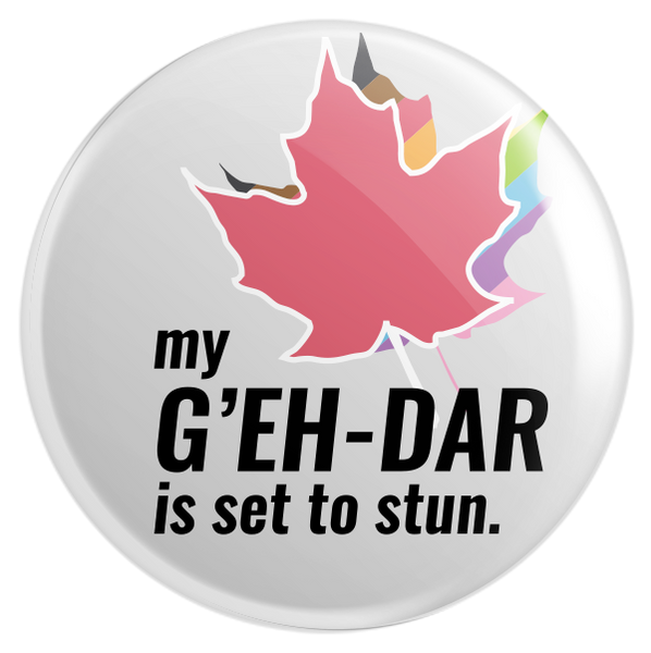 G'Eh dar Button
