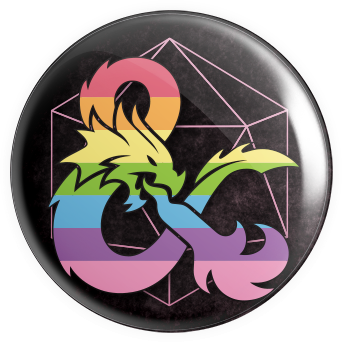 Dragons and Drags Button