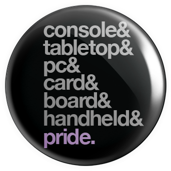 Gaming 'n Pride Button