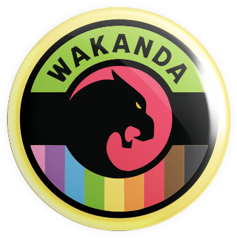 Wakanda Button