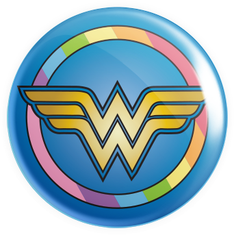 Wonder Pride Button