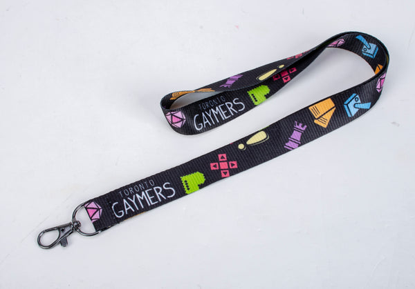 TG Lanyard in Black