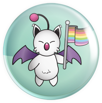 Kupo Flag Button