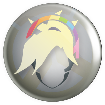 Winged Healer Button