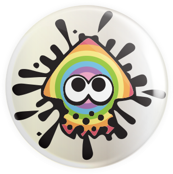 Squirt Squid Button