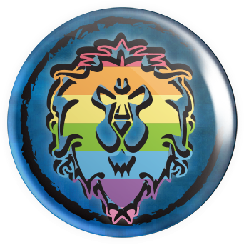 WOW Lion Button