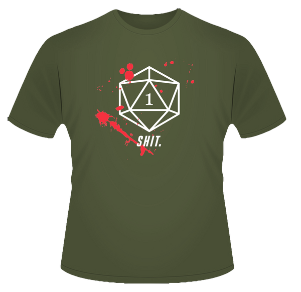 D20 Critical Miss T-Shirt