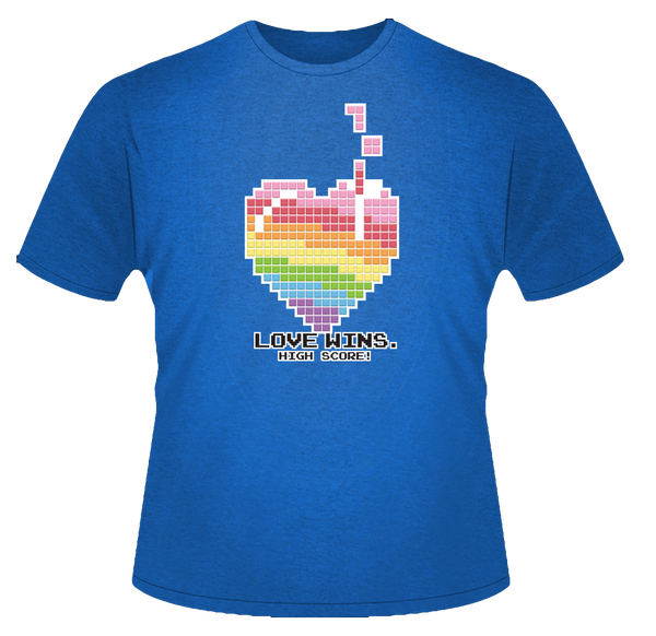 Love Wins: High Score T-Shirt