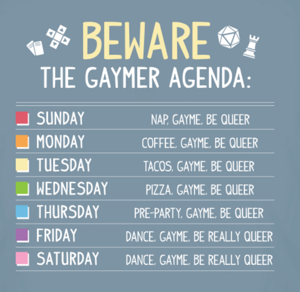 The Gaymer Agenda T-Shirt