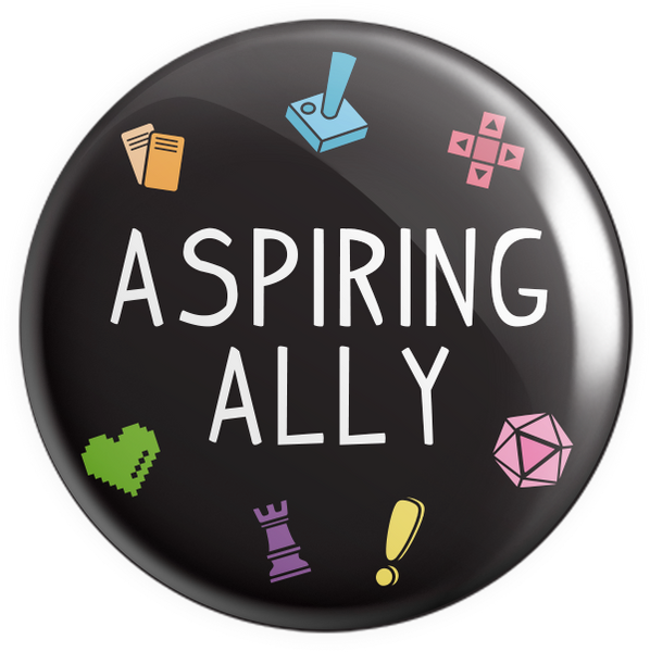 Aspring Ally Button