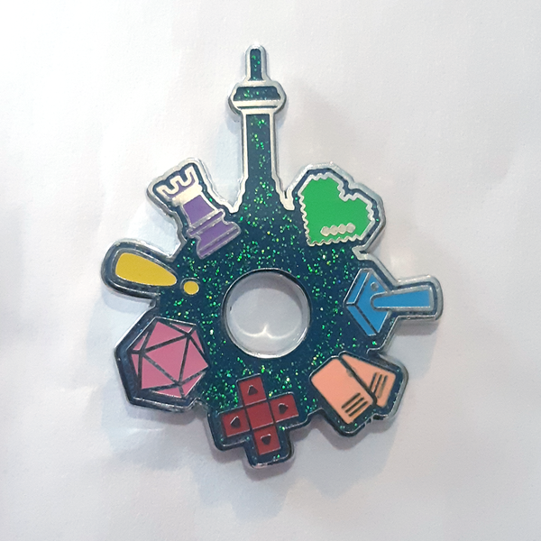 Three 6ixty • Official Pinny Arcade Enamel Pin