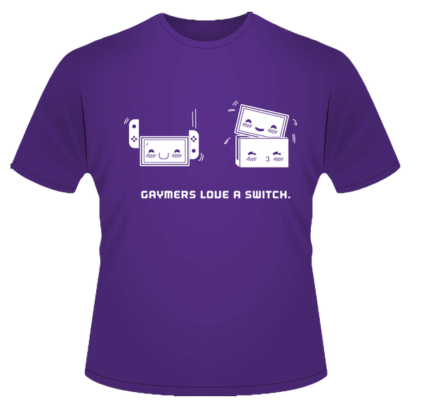 Gaymers Love T-Shirt