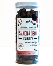 Salmon & Bison Pet Treats 14oz