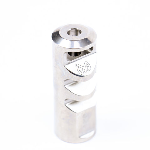 Gladius Muzzle Brake - Polished Stainless
