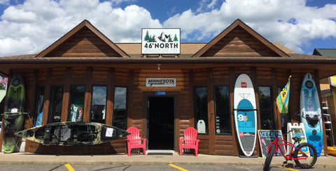 Outdoor sporting goods store Nisswa Minnesota