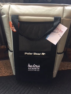 Polar Bear Cooler 18 pack with straps
