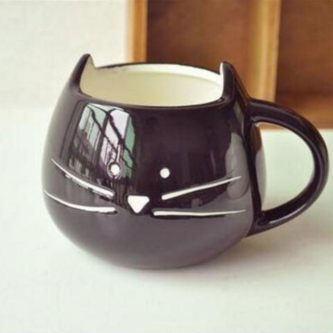 Image of Milk and Whiskers Cat Mug