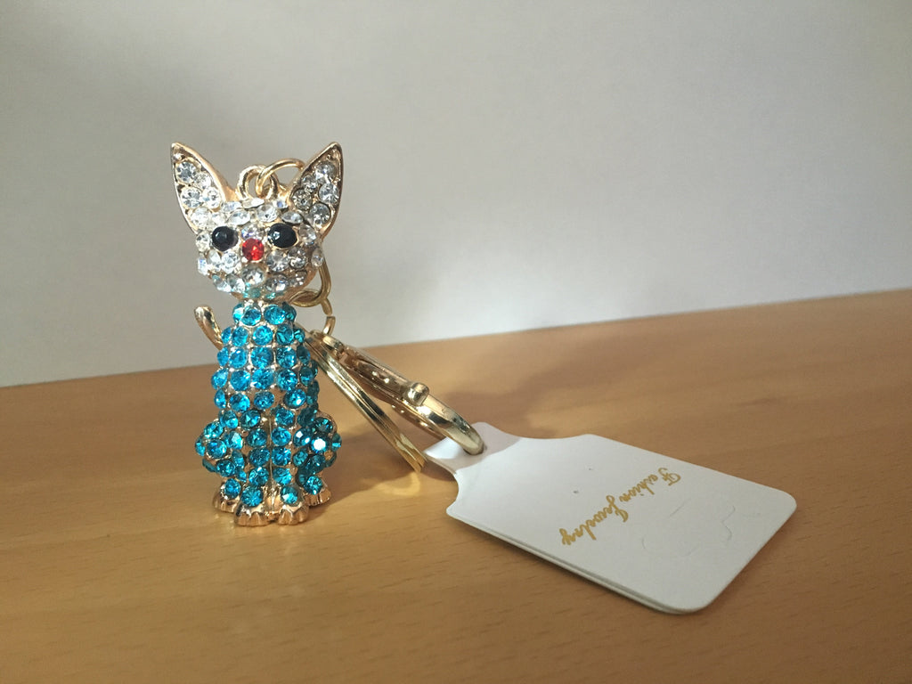 Cat Key Chain, Jewelry - catsbeststore