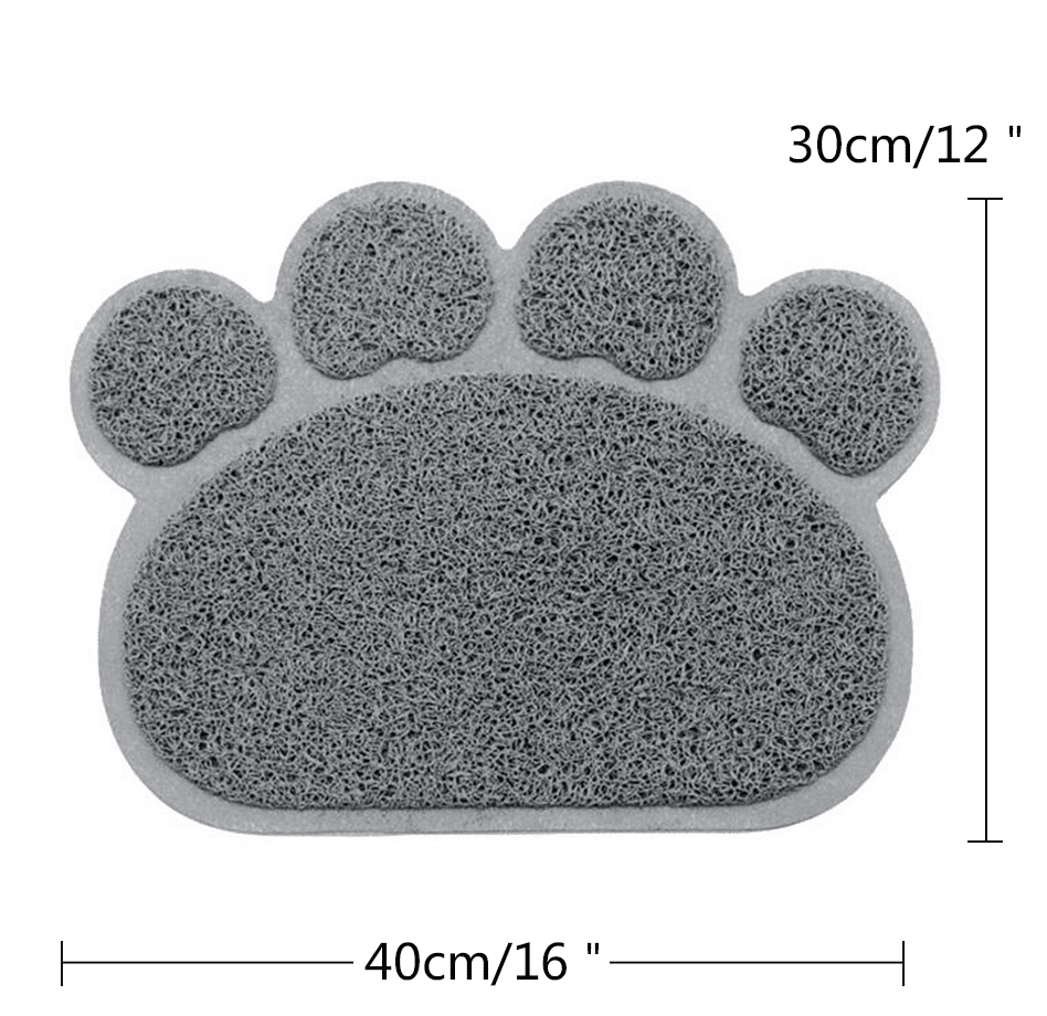 Cat Paw Feeding Mat, Accessories - catsbeststore