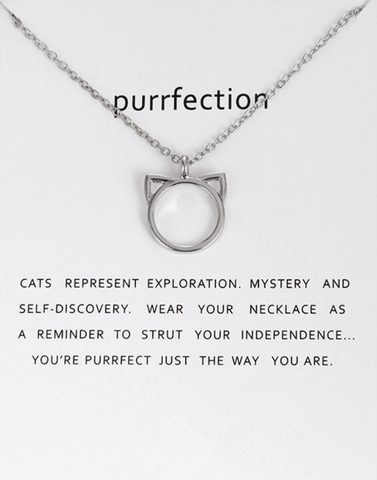 Image of Cute Cat Necklace, Jewelry - catsbeststore