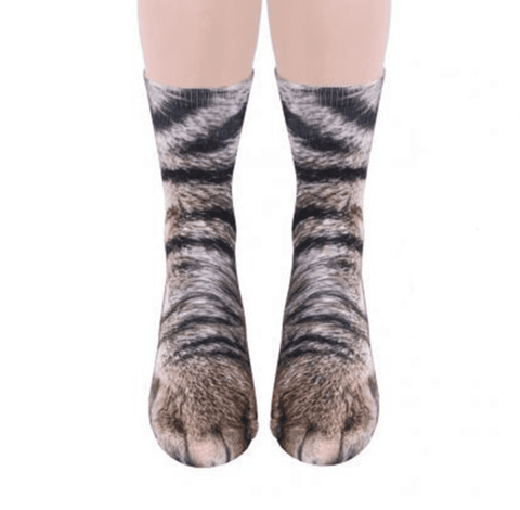 Image of 3D Cat Paw Socks, Clothing - catsbeststore
