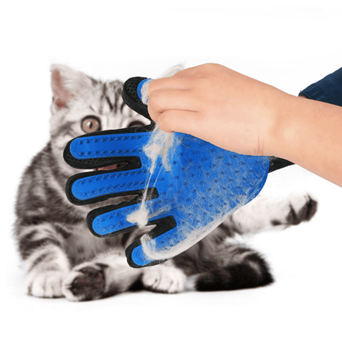 Cat Deshedding Glove, Accessories - catsbeststore