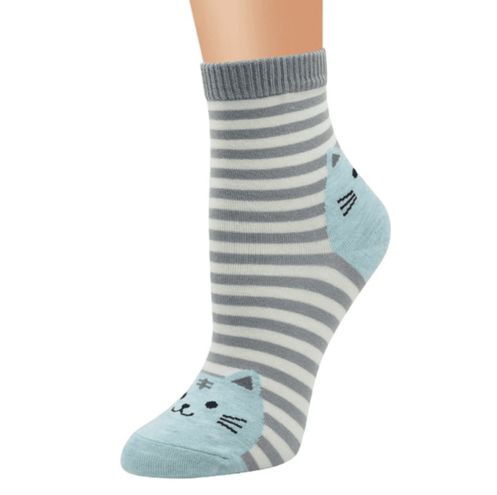 Striped Cat Socks, Clothing - catsbeststore