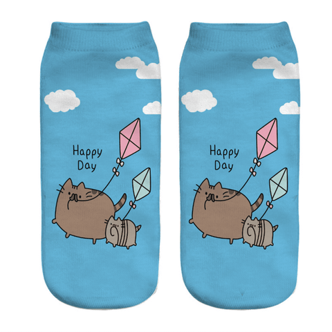 Happy Day Cat Socks, Clothing - catsbeststore