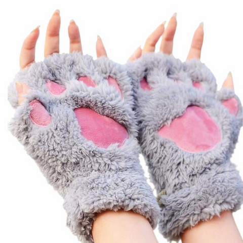 Image of Cat Paw Mittens