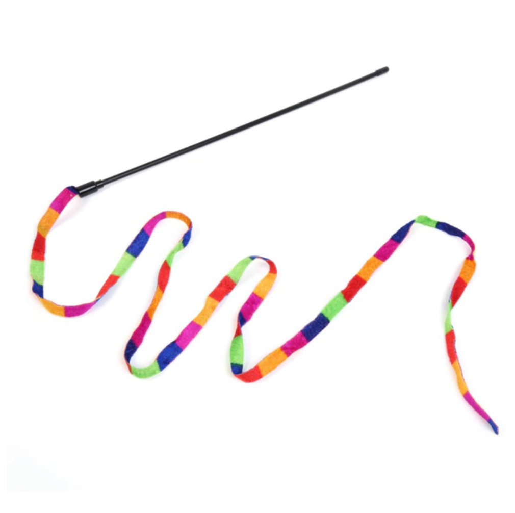 Rainbow Cat Wand