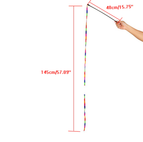 Image of Rainbow Cat Wand