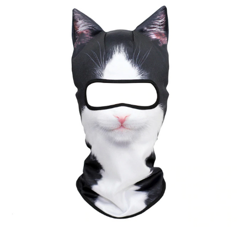 Image of Cat Winter Face Mask