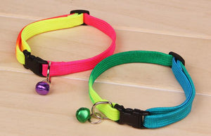 Rainbow Cat Collar (Bell)