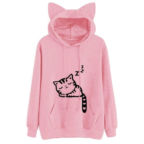 Image of Cat Ears Sweatshirt