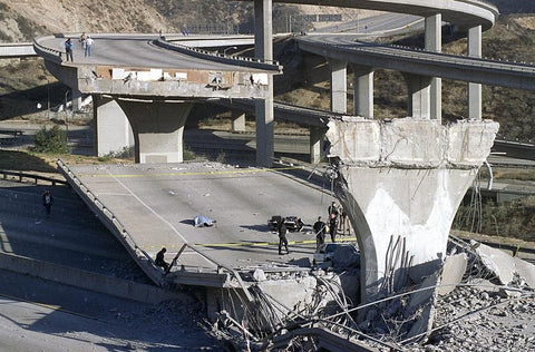 Northridge Earthquake Highway Collapse