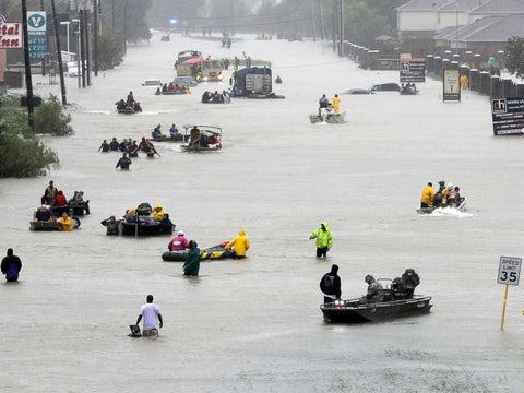 Hurricane Harvey Rescues- Photo Credit David J. Phillip/AP