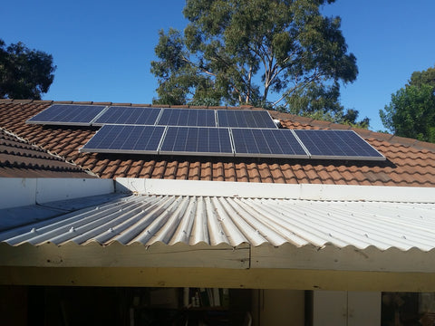 Solar panels are one backup power source.